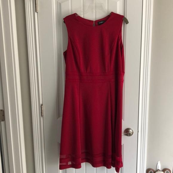 Liz Claiborne Fit and Flare Sleeveless Dress. Size 16.